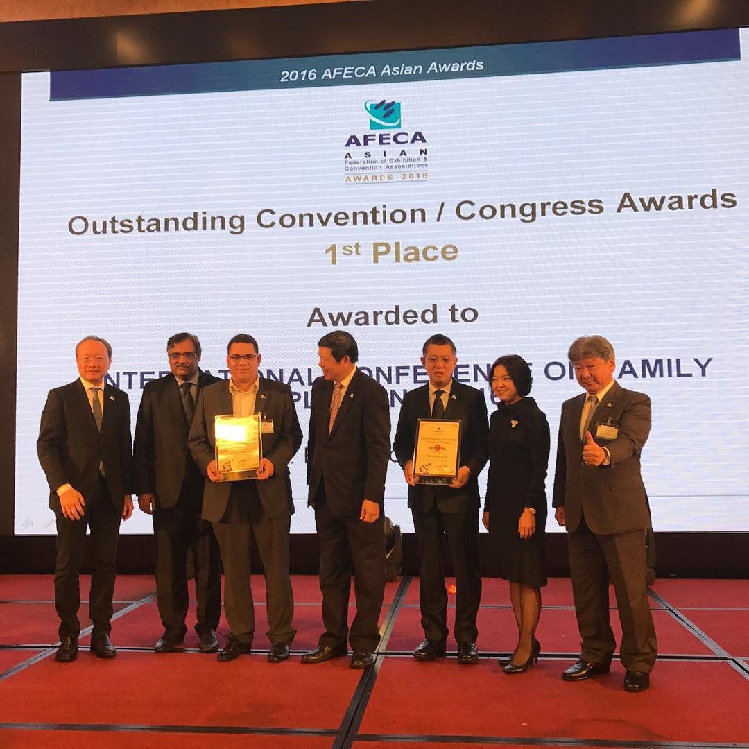 Outstanding Convention/Congress Award AFECA