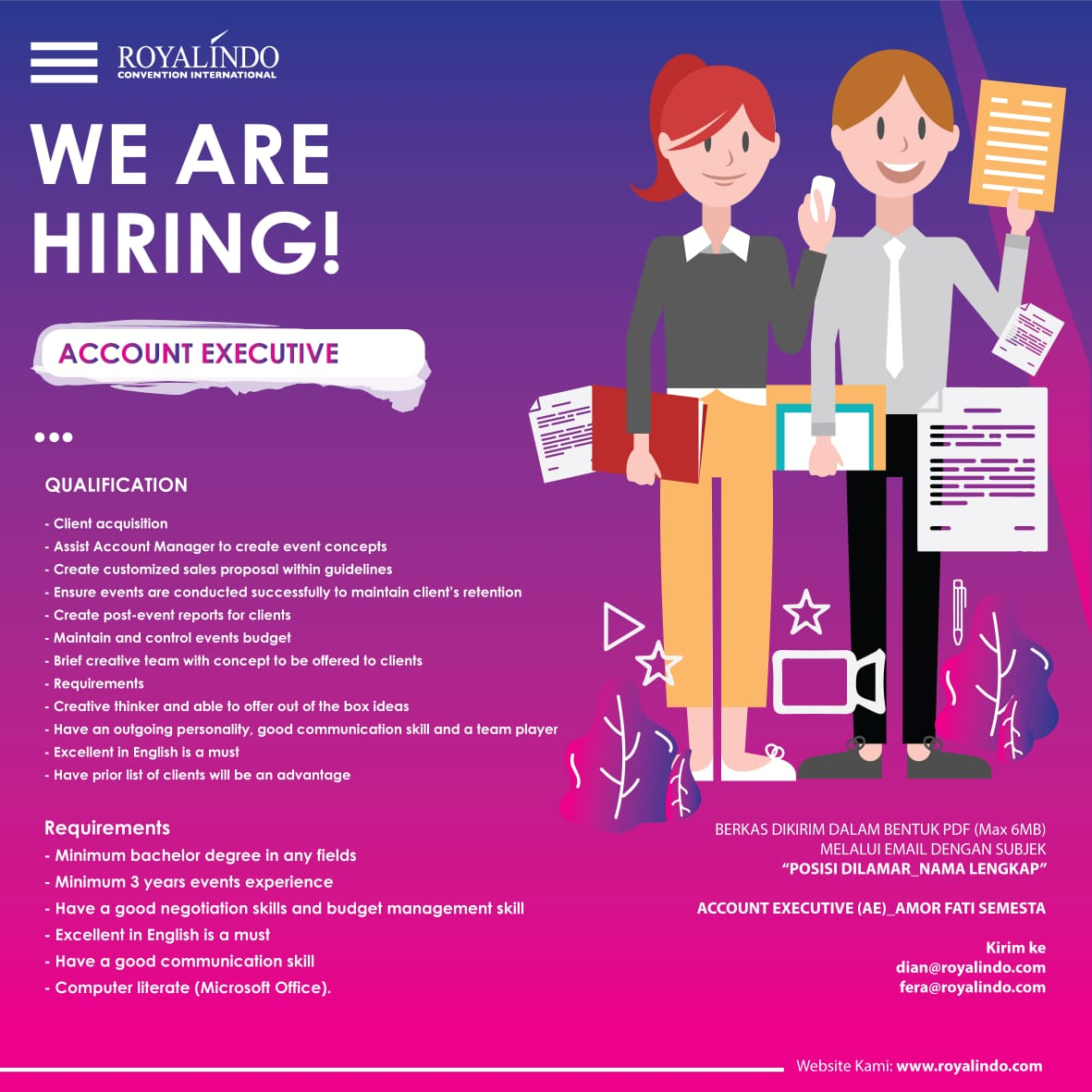 Royalindo Jobs AE